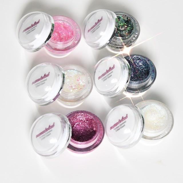 veevonderland Glitter Cream all shades